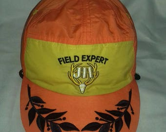 Rare vintage podium cap field expert with rope adjuster style 57-59 cm