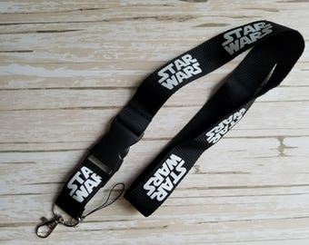 Star Wars Day at Sea Lanyard for Nurse Teacher Comic Con Disneyland Disney World Disney Cruise ID Badge Necklace Pin Holder