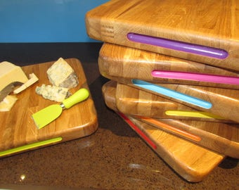 Oak Chopping Boards with a Twist!