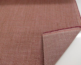 """Red/Pink & Grey """"Kentash"""" Heavy Upholstery Fabric. By NEXT, Price Per Metre"""