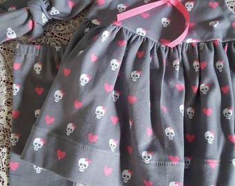 Skull outfit. 3 pieces