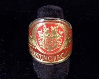 Winston Churchill Cigar Band Ring