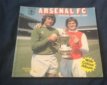 Arsenal Football Club Official Annual 1980 By Circle Publications