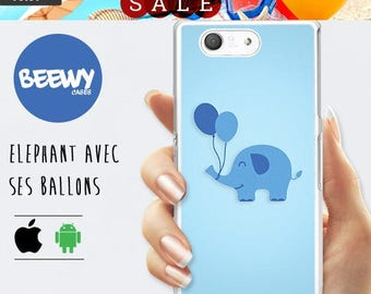 FRENCH SALES!!! Elephant Case, iPhone 6s Plus Case elephant, iPhone 6s balloons Case, elephant iPhone case iPhone 5s elephant Cover,
