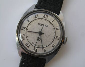 Watch Raketa RUSSIAN VINTAGE Ussr wrist watch - Serviced