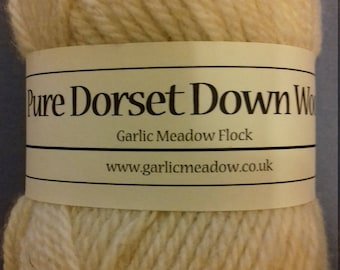 Aran Wool from our own Dorset Down sheep