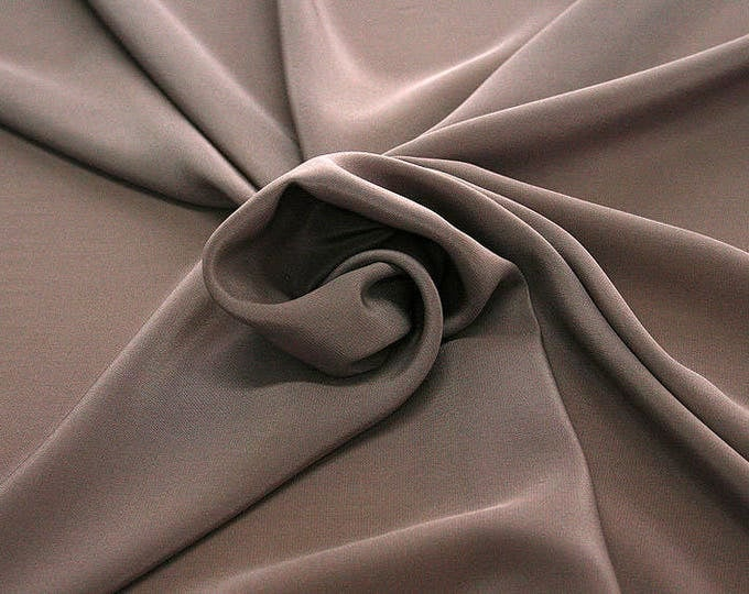 301021-Chinese natural silk crepe 100%, width 135/140 cm, made in Italy, dry cleaning, weight 88 gr