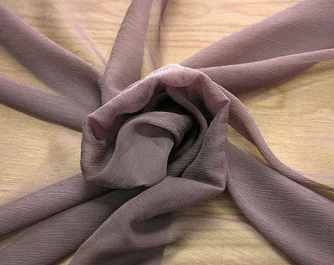 326021-Chiffon Natural silk 100%, width 127/130 cm, made in Italy, dry cleaning, weight 29 gr