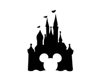 Mouse Castle Decal