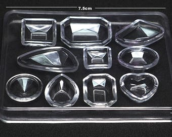 Faceted Gem Silicone Mold