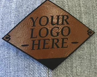 Leather Patch Any Logo