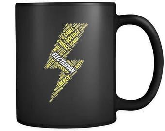 Electrician Gift, Electrician Mug, Funny Electrician Gifts, Electric Mug, Electricity Mug, Gift for Electrician, Mug for Electrician #a045