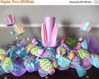 SALE Easter Centerpiece, Bunny Centerpiece, Easter Center Piece, Easter Decor, Easter table centerpiece, Spring Centerpiece,Easter