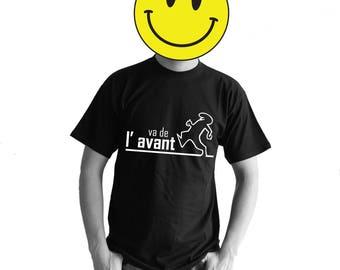 the line digital print t-shirt