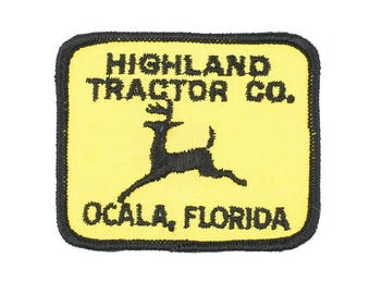 Highland Tractor Co Vintage Patch