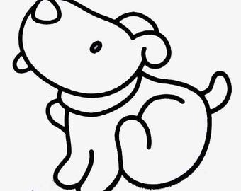 """Doggie #2"" rhinestone design"