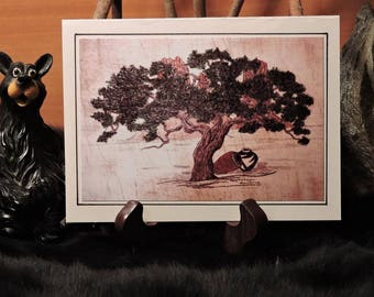 Artistic Card Set / Pinon Tree and Jars