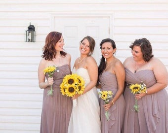 Sunflower bouquet! Bride bouquet, sunflower wedding bouquet, wedding, rustic, bride, bridal bouquet, yellow, set