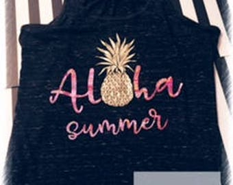 Aloha Summer tank