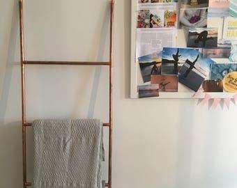 Copper Homeware Ladder - interior design
