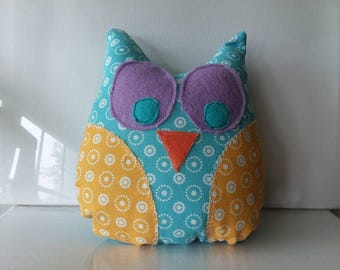 Be Yourself stuffed animal owl