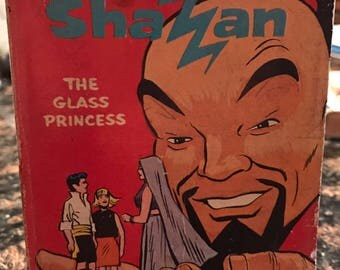 Hanna-Barbera's Shazzan The Glass Princess 1968 A Big Little Book