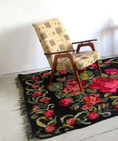 3 28x1 64m 10 76x5 38ft Tapis Kilim Vintage Rose Rug Black Rug Large