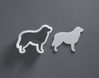 Australian Shepherd cookie cutter, custom dog treat