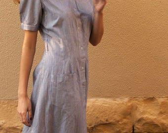 Original 1930s nurse uniform day dress RARE art deco