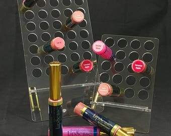 NEW, EASY, LipSense display.  large, medium or small, LipSense stand, LipSense display, SeneGence, Lipsence