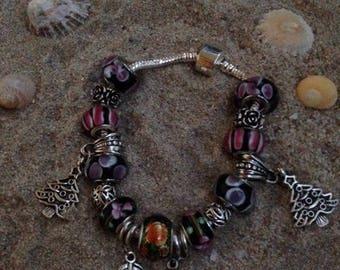 Black charm's adult size bracelet