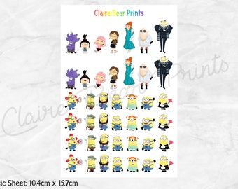 MINIONS Planner Stickers