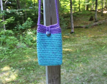 Cell Phone Cross Body Bag, Cell Phone Tote, Crossbody Bag, Mobile Phone Purse, Hands Free Bag