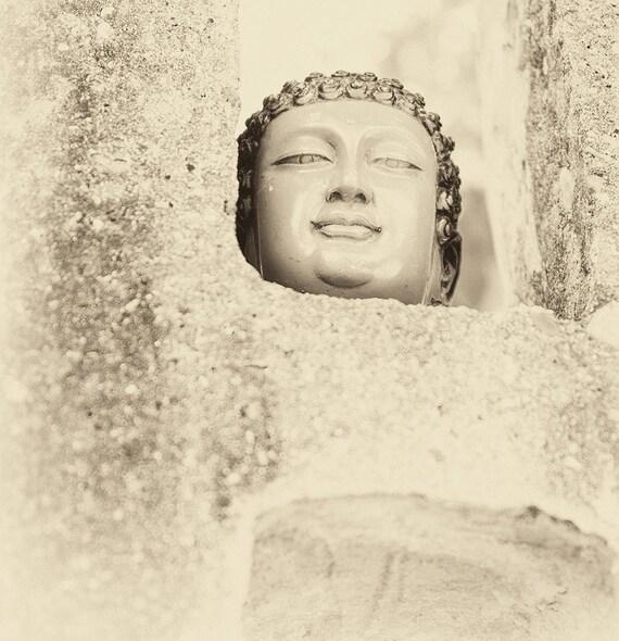 VIETNAM STORIES 12. Vietnam Prints, Sepia Tone, Travel Photography, Buddhism, Spiritual, Limited Edition, Photographic Print