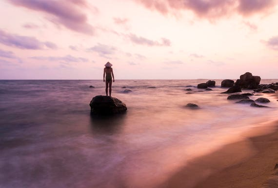 ISLAND DREAMS. Seascape Print, Vietnam, Phu Quoc Island, Travel Photography, Limited Edition, Large Print, Coastal Print