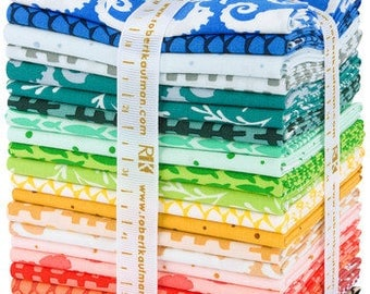 Reef by Elizabeth Hartman Fat Quarter Bundle for Robert Kaufman Fabrics Pre Order and get FREE shipping