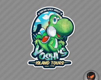 Island Adventures (Sticker)