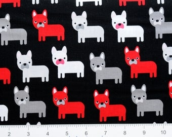 DOGS ~ Urban Zoologie by Ann Kelle for Robert Kaufman ~ AAK157232 ~ By The Half Yard ~
