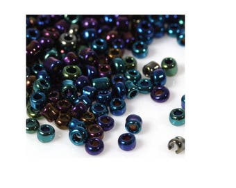 Seed beads multicolor 20 gr