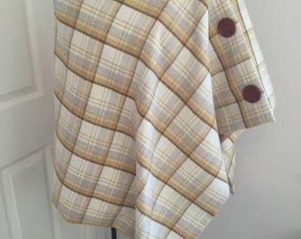 Wool cape/Wrap/Poncho