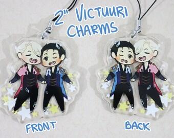 "2"" Acrylic Victuuri Charm"