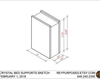 Bed Supports For Crystal (Prototype)