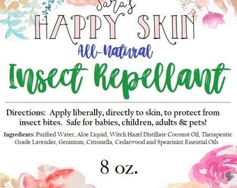 Happy Skin All- Natural Insect Repellent
