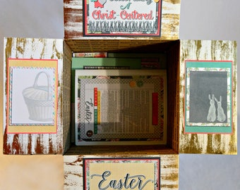 Care Package Kit - LDS Missionary 'Celebrating a Christ Centered Easter' - INSTANT DOWNLOAD