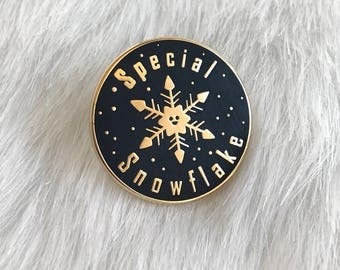 Special Snowflake Pin