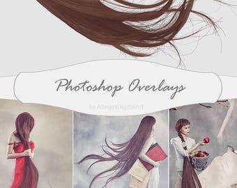 Hair overlays, Overlays,Photoshop overlays ,hair, overlay, photography, photo art, digital overlays, photo overlays