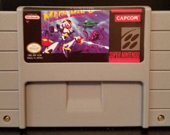 Mega Man X Custom made English Super Nintendo SNES