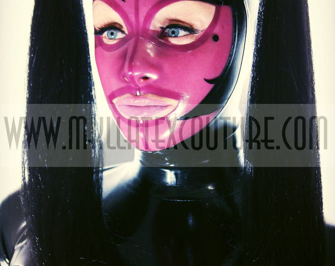 The Paris Latex Hood with Pigtails