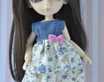 Beautiful Handmade dress  for Hujoo Doll,Blythe & Pullip Dolls and similar size dolls