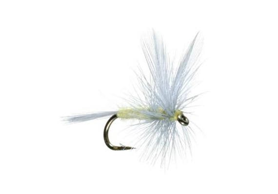 Pale Morning Dun - PMD - Classic Dry Fly - Hook Size 18 - Hand-Tied Fly Fishing Trout Flies